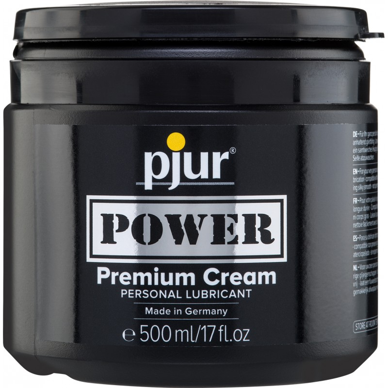 Pjur Power Premium Cream Lubricant Tub 500ml