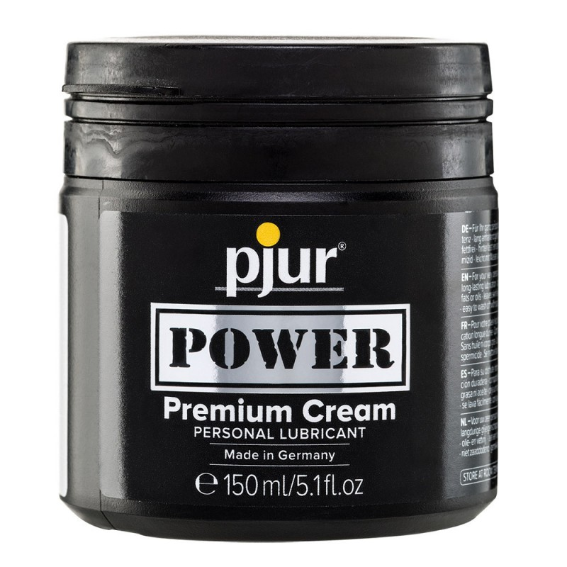 Pjur Power Premium Cream Lubricant Tub 150ml