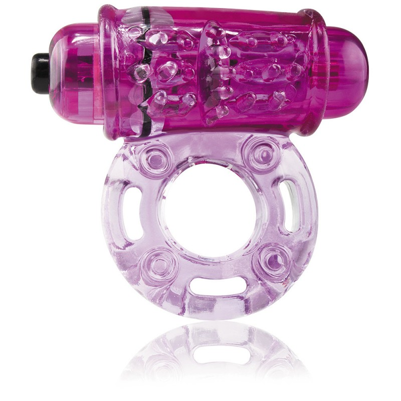 O WOW Super Powered Vibrating Ring - Purple