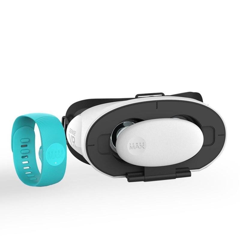 SenseMax Sense Ecosystem VR Pleasure Set Lite - Turquoise