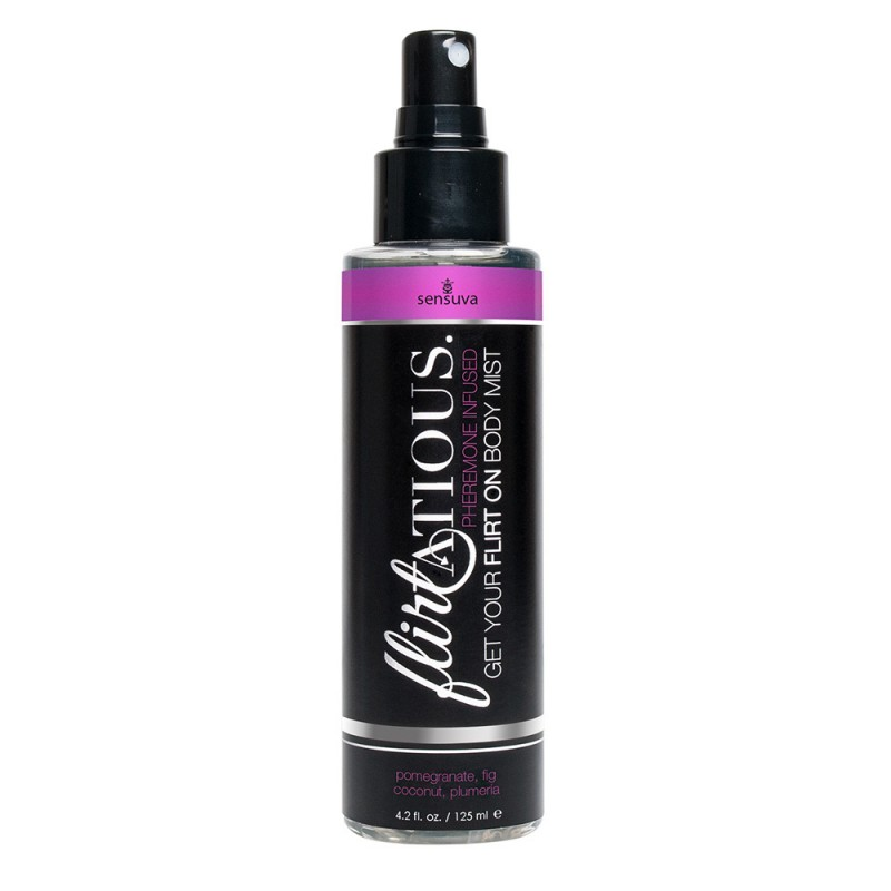 Sensuva Flirtatious Body Mist 125ml - Pomegranate, Fig, Coconut & Plumeria