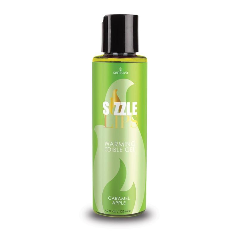 Sensuva - Sizzle Lips Warming Edible Gel Caramel Apple - 4.2 oz. (125 ml)