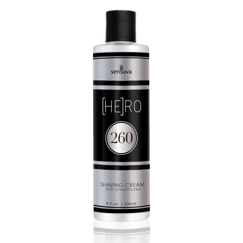 Sensuva - Hero 260 Male Pheromone Shave Cream 236ml
