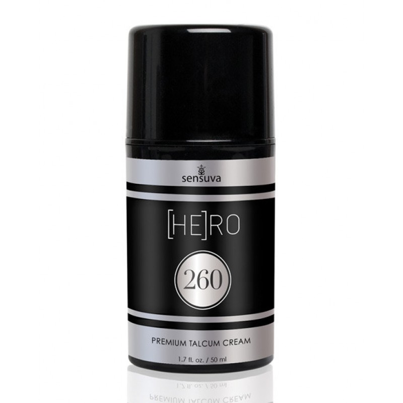 Sensuva - Hero 260 Talcum Cream for Men 50ml