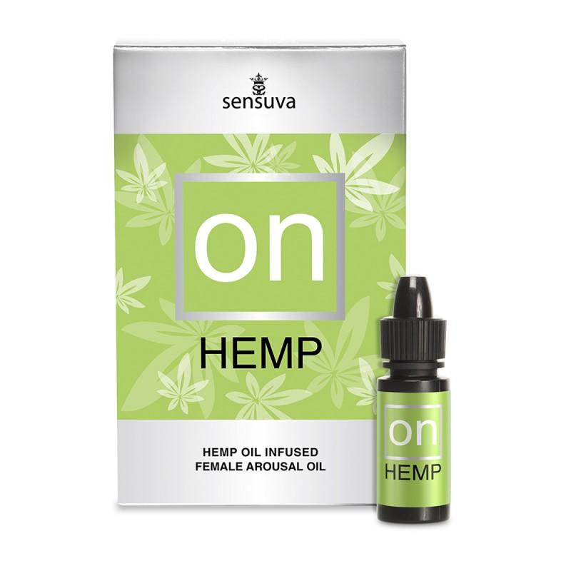 Sensuva On for Her Hemp Oil Infused Female Arousal Oil 5ml