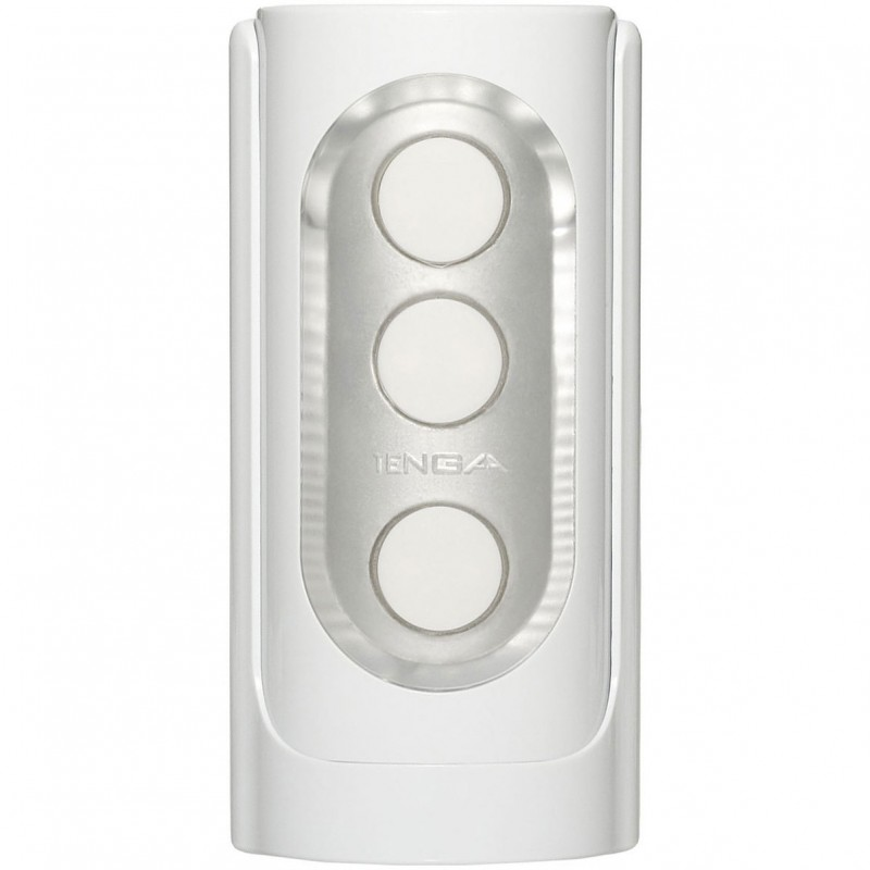 Tenga Flip Hole Reusable Male Masturbator - White