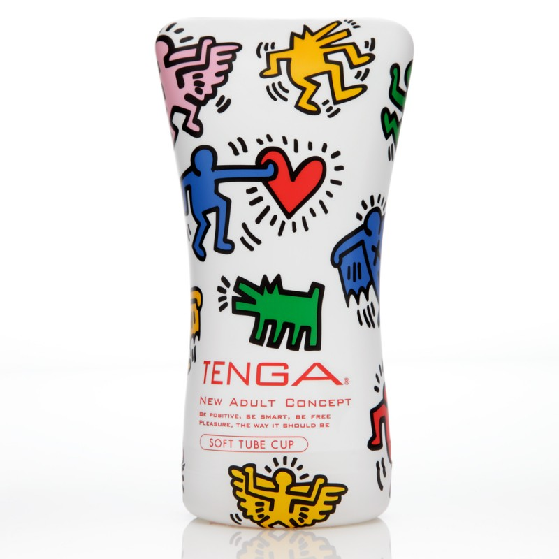Tenga Keith Haring Soft Tube Cup Special Edition