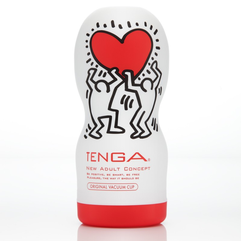 Tenga Keith Haring Vacuum Cup Special Edition