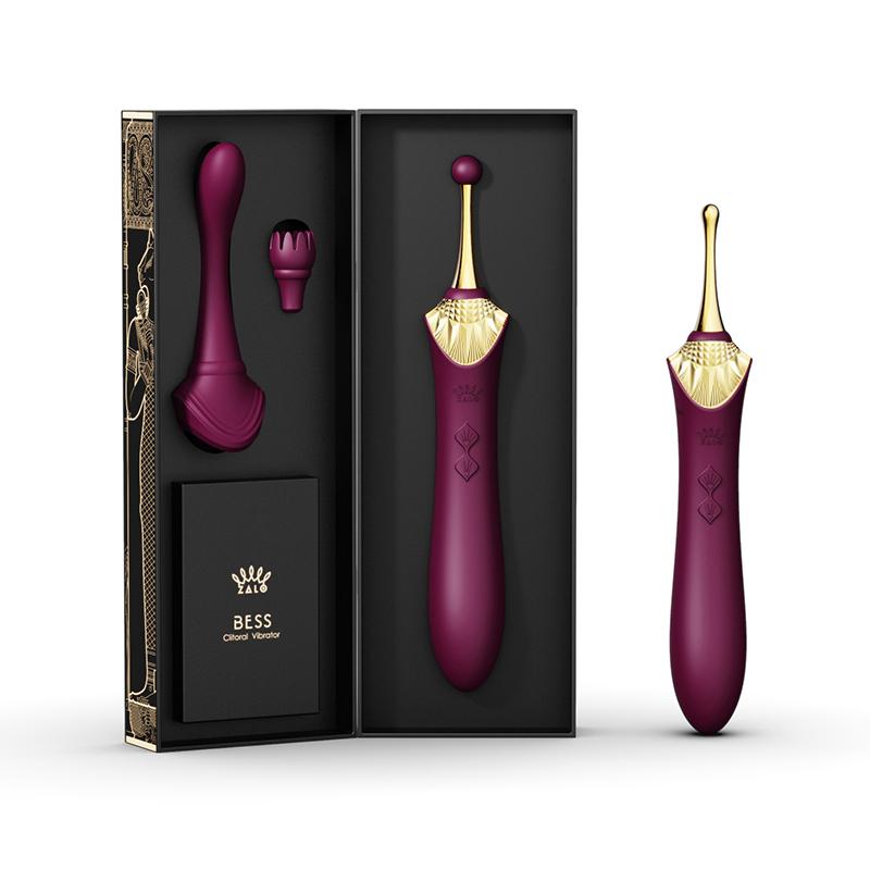 Zalo Bess Clitoral Massager - Purple