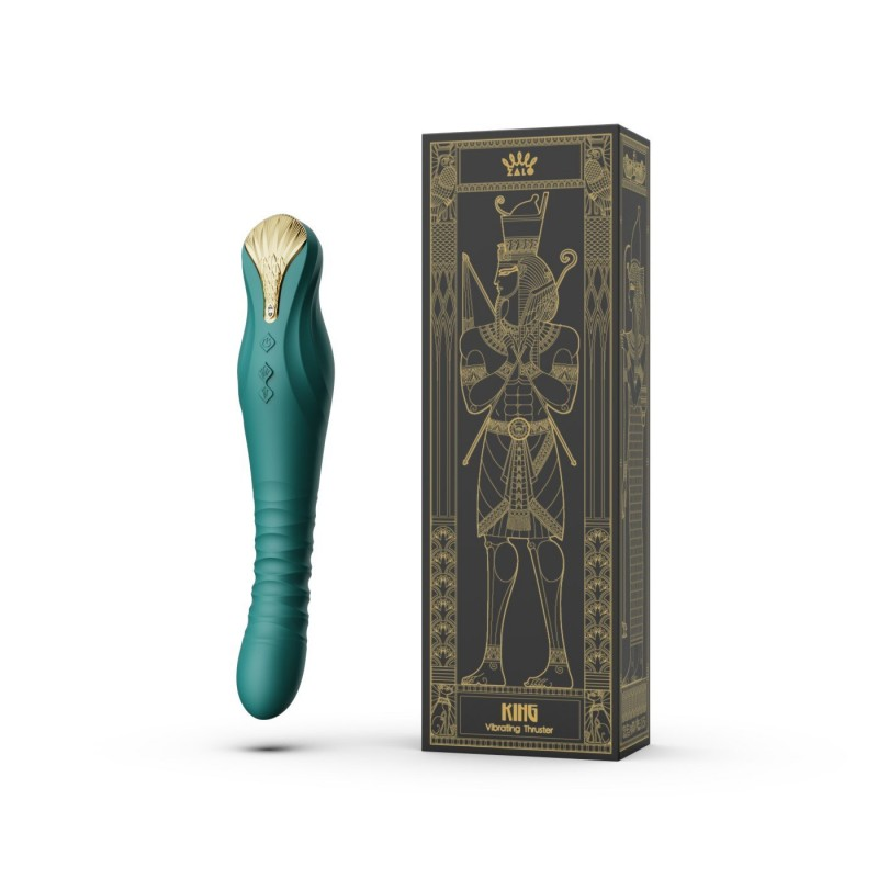 King Vibrating Thruster - Turquoise Green