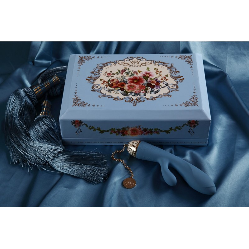 Rosalie Rabbit Vibrator - Royal Blue