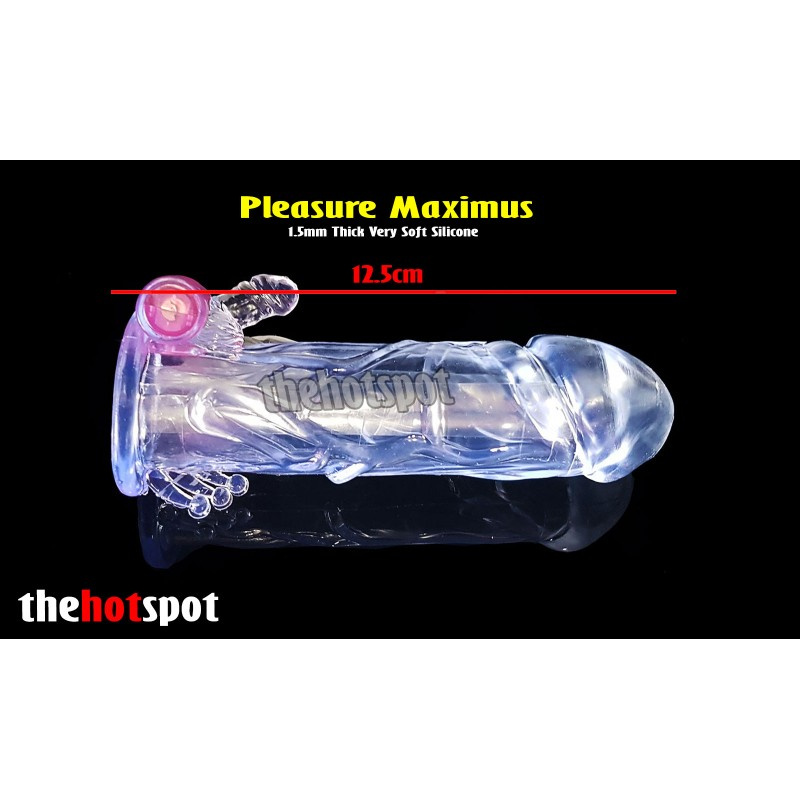 Pleasure Maximus Penis Extender Sleeve