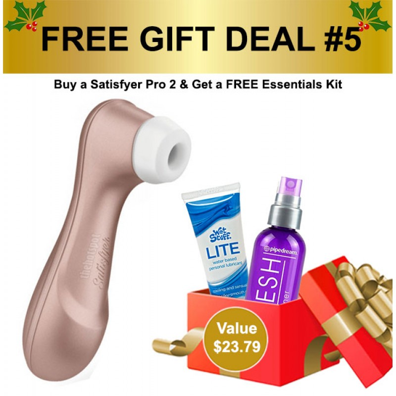 Satisfyer Pro 2 Next Generation Clitoral Stimulator Air Suction Vibrator