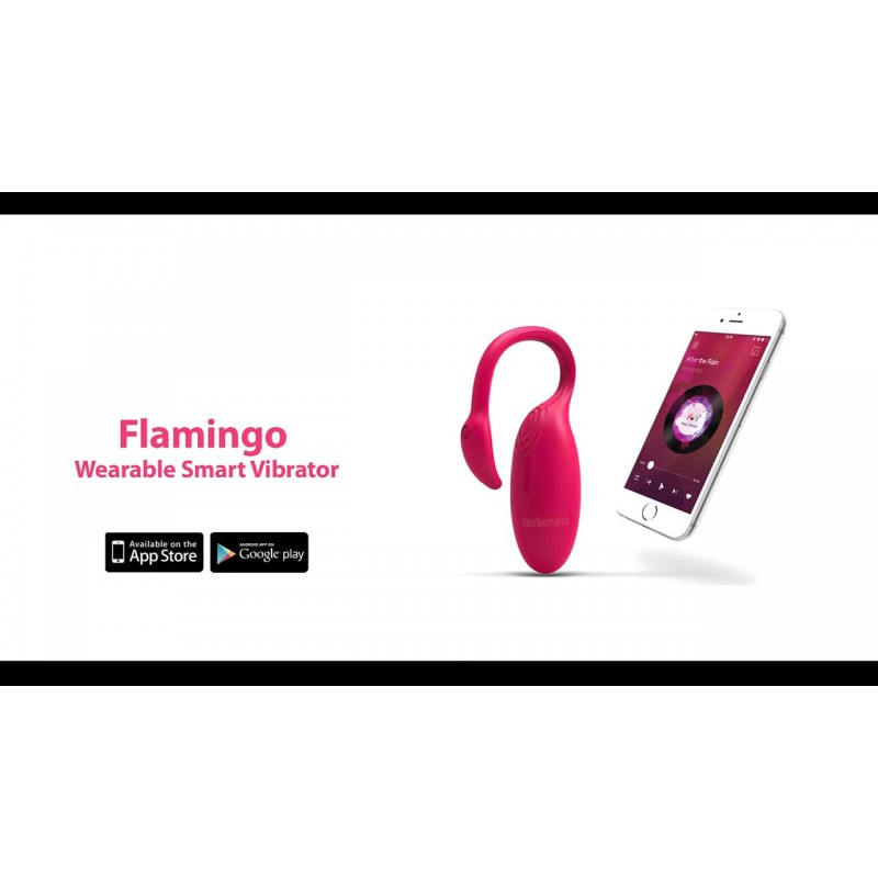 Magic Motion | Flamingo | Bluetooth App Control Wearable Vibrator