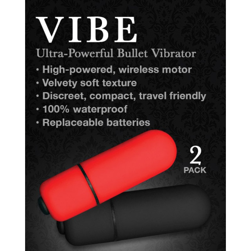 Bedroom Products Vibe Bullets - 2 Pack