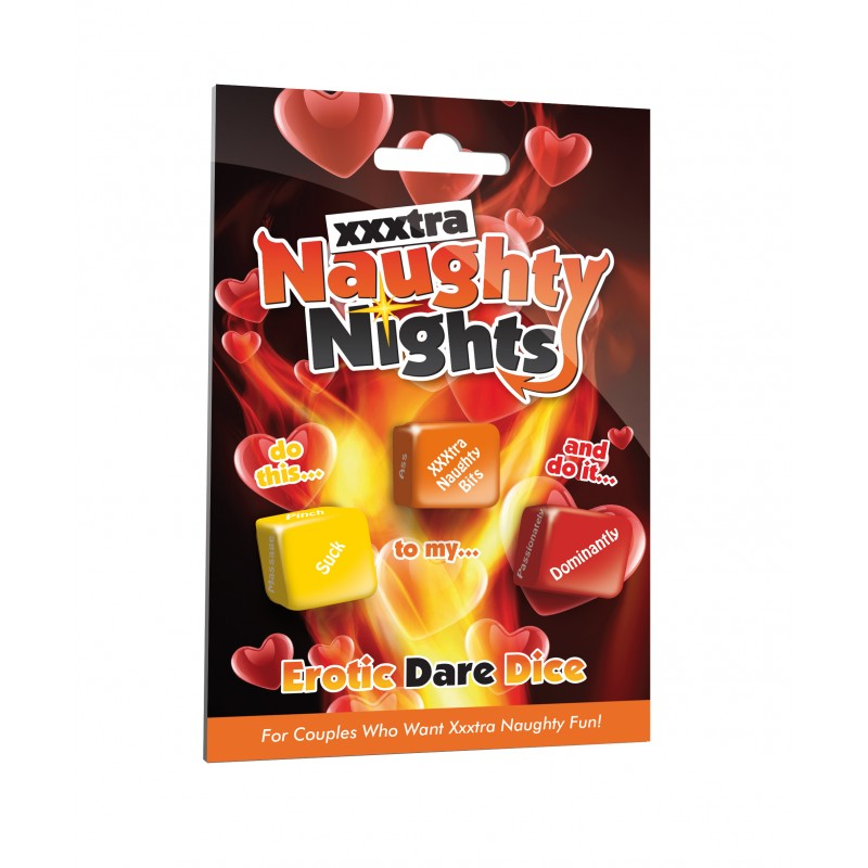 Naughty Nights Erotic Dare Dice