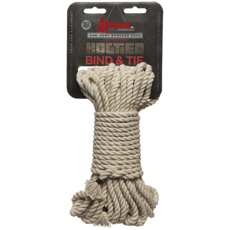 KINK Hogtied Bind & Tie 6mm – 15 Metres Natural