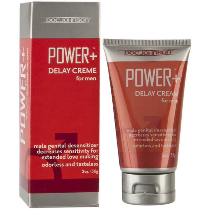Doc Johnson Power Plus Delay Cream for Men - 56g