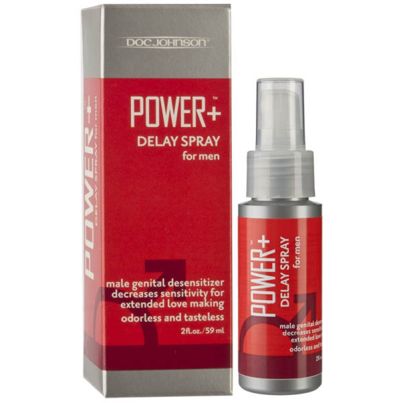 Power Plus Delay Spray for Men - 59 ml Bottle
