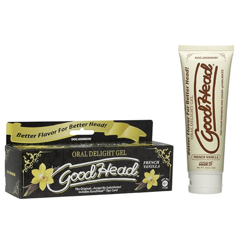 GoodHead Oral Delight Gel - French Vanilla - 113 g