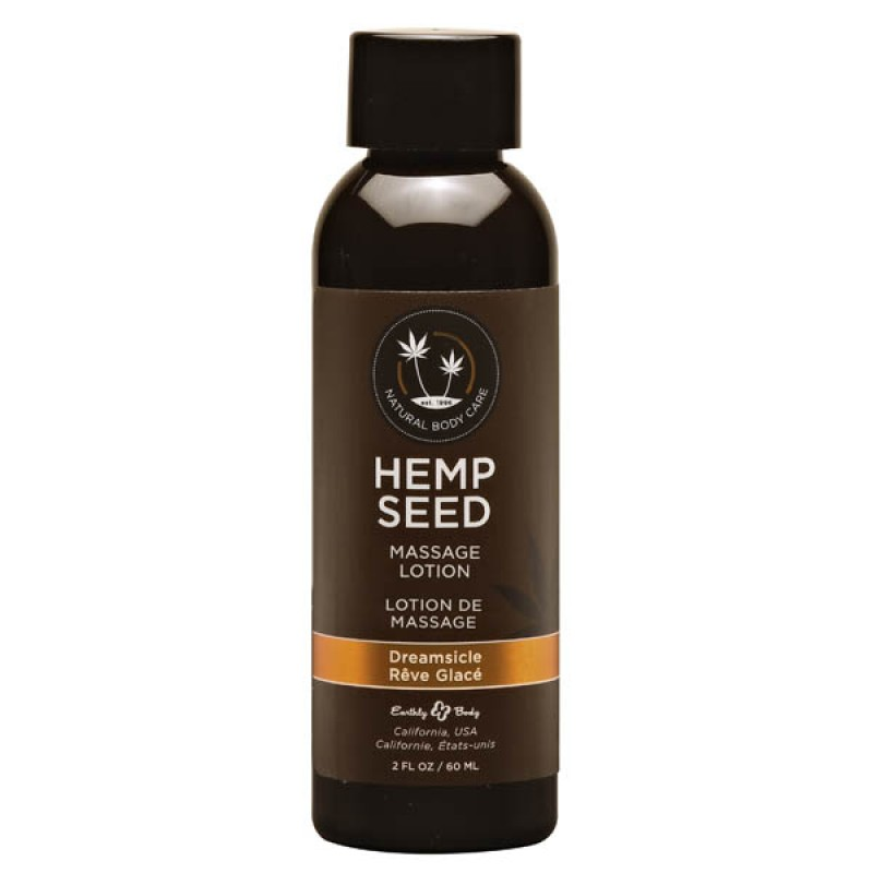 Hemp Seed Massage Lotion 59 ml Bottle - Dreamsicle
