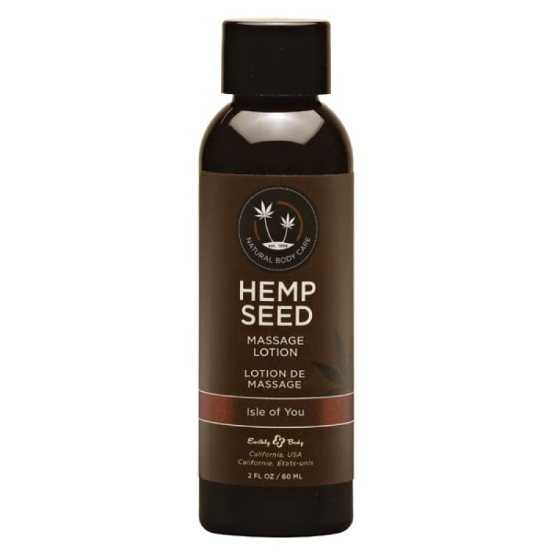 Hemp Seed Massage Lotion 59 ml Bottle - Isle of You