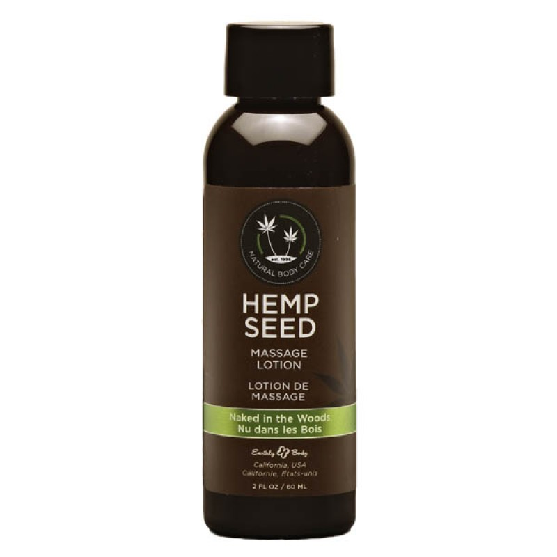 Hemp Seed Massage Lotion 59 ml Bottle - Naked In The Woods