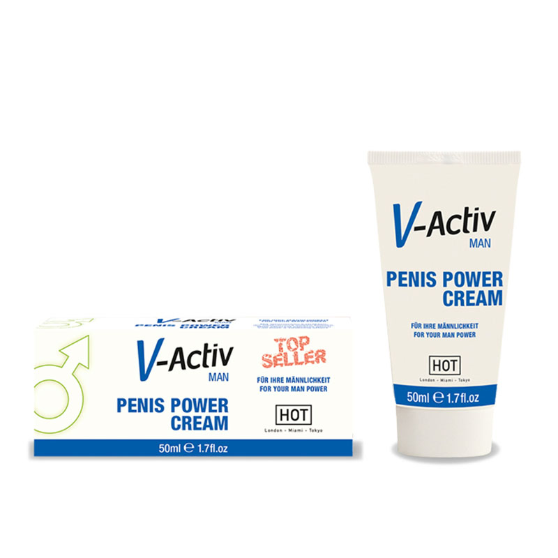 HOT V-Activ Penis Power Cream - 50ml