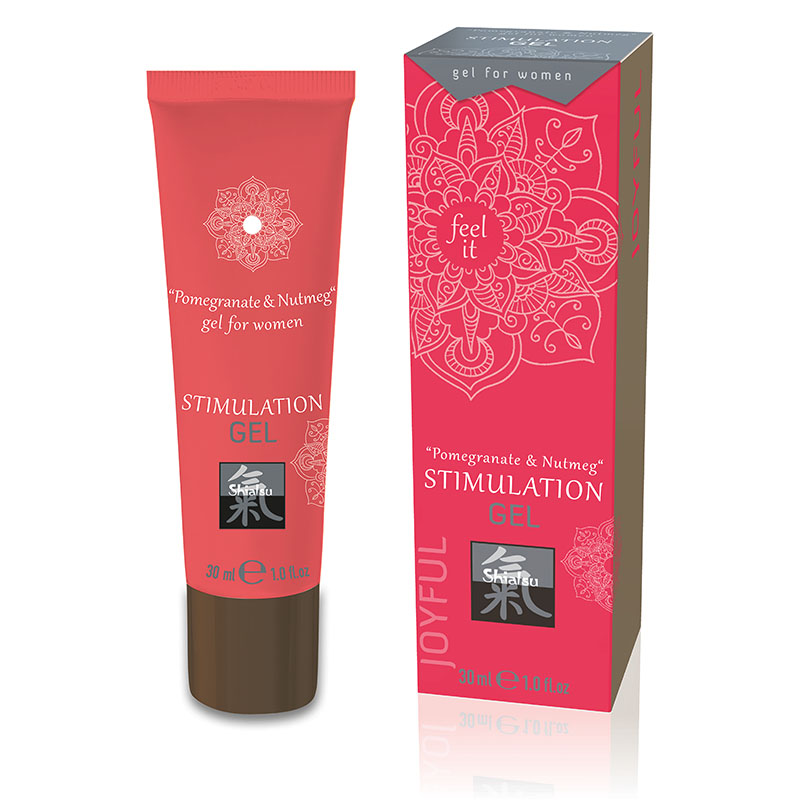 Shiatsu Stimulation Gel 30ml - Pomegranate & Nutmeg