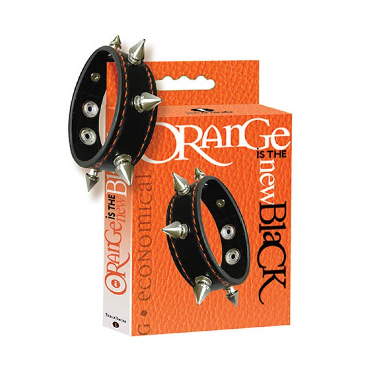 Orange Is The New Black Spiked Cock Ring