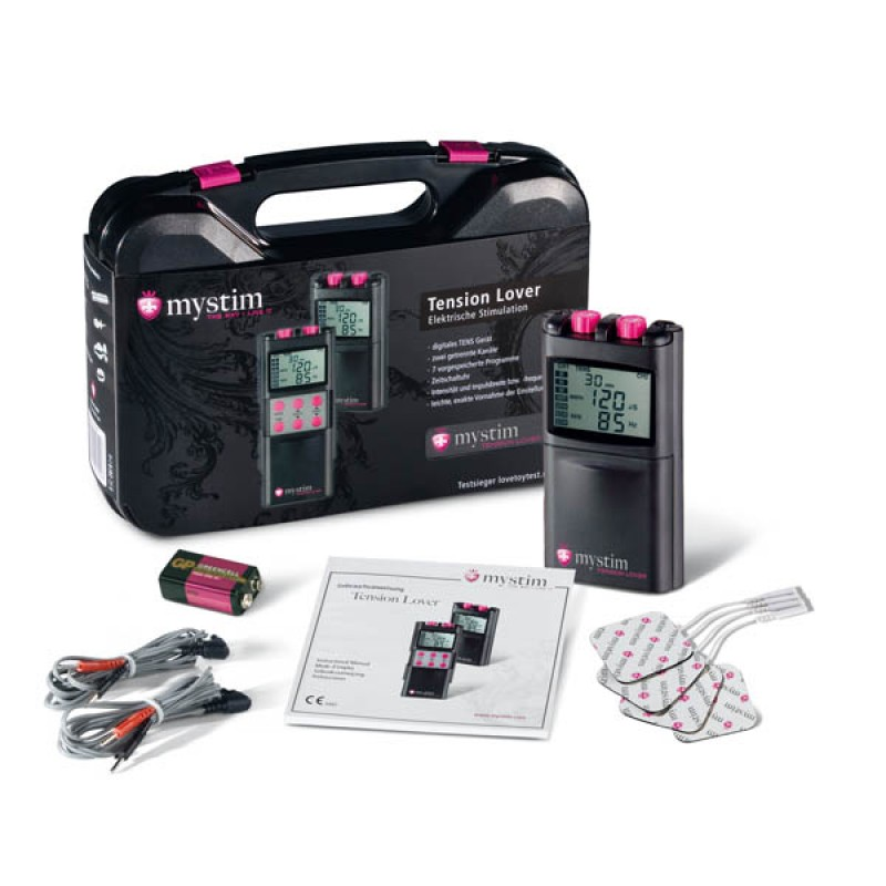 Mystim Tension Lover E-Stim Electro-Therapy Device