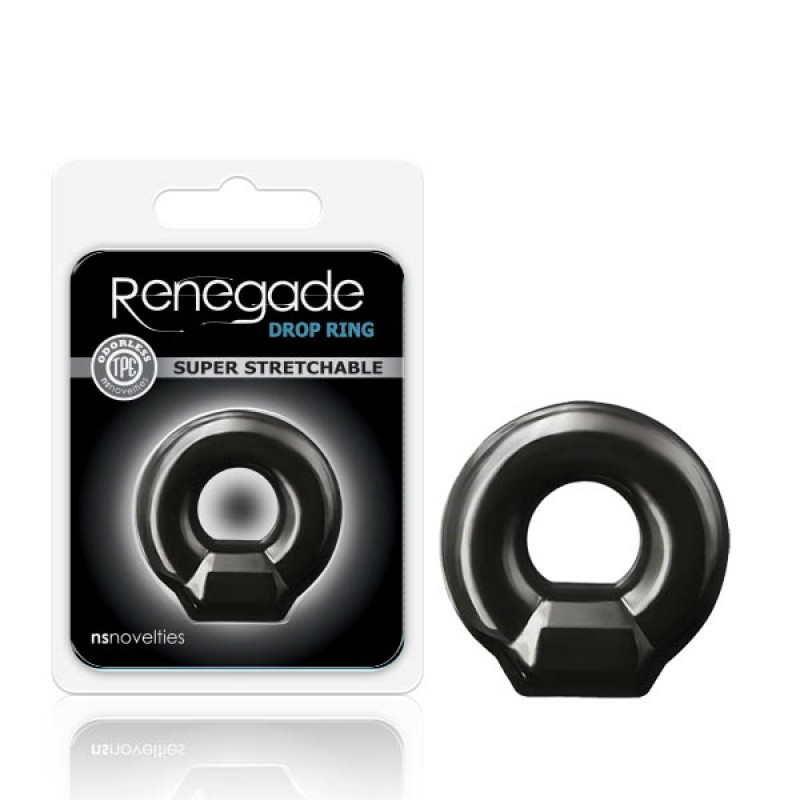 Renegade Drop Ring - Black