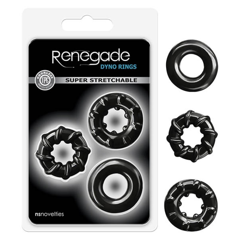 Renegade Dyno Rings - Black