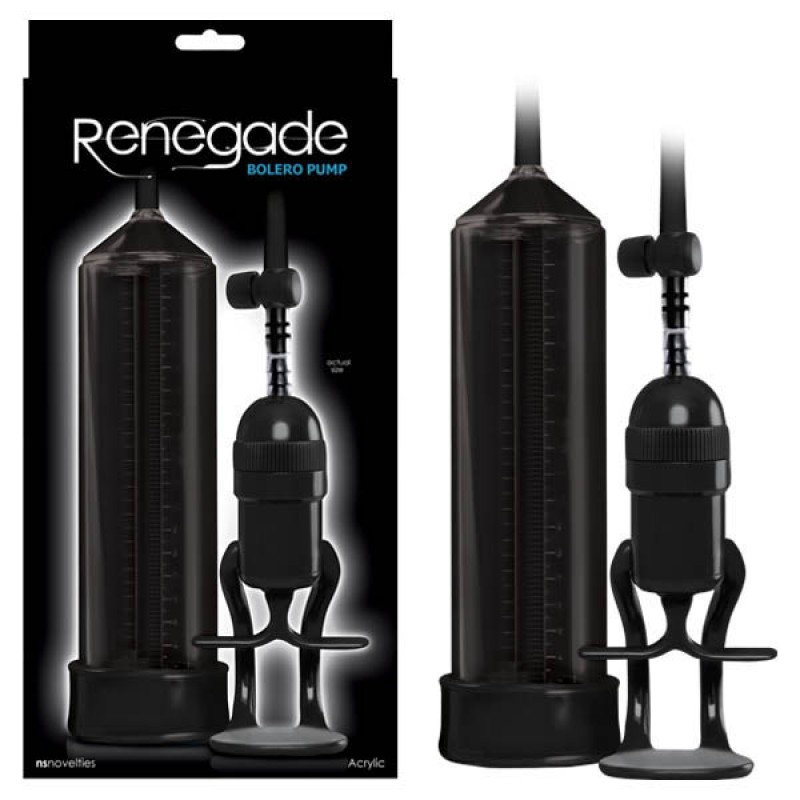 Renegade Bolero Pump - Black