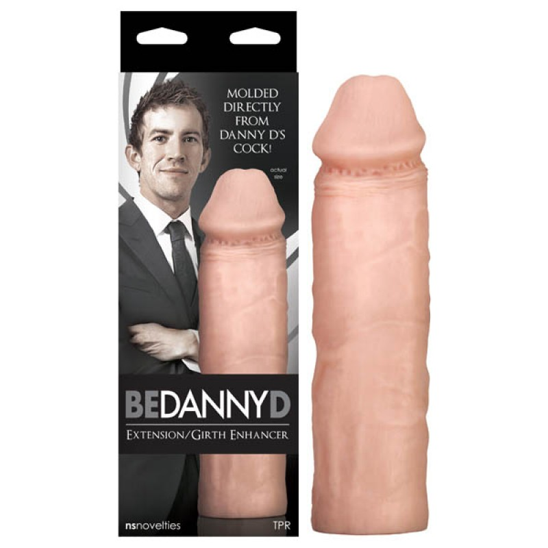 Be Danny D! - Extension / Girth Enhancer - Flesh