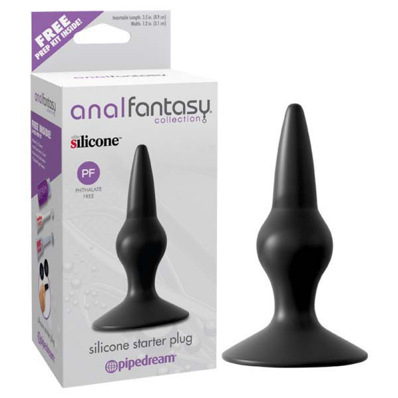 Pipedream Anal Fantasy Collection Silicone Starter Butt Plug
