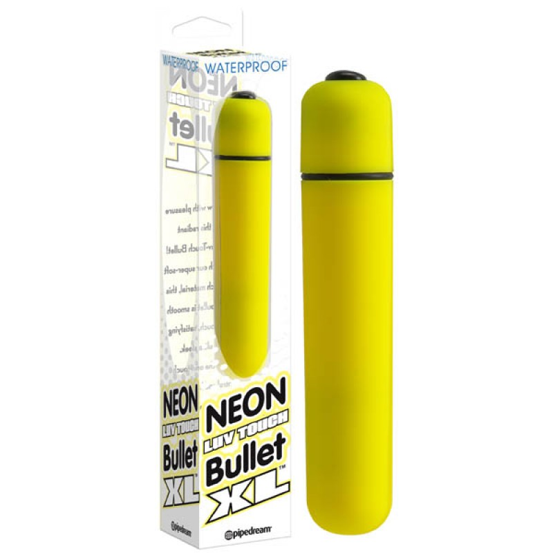 Neon Luv Touch Bullet XL - Yellow