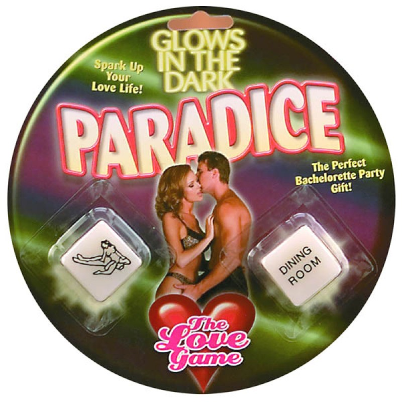 Glow In The Dark Paradice - The Love Game