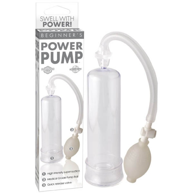 Beginner's Power Pump - White