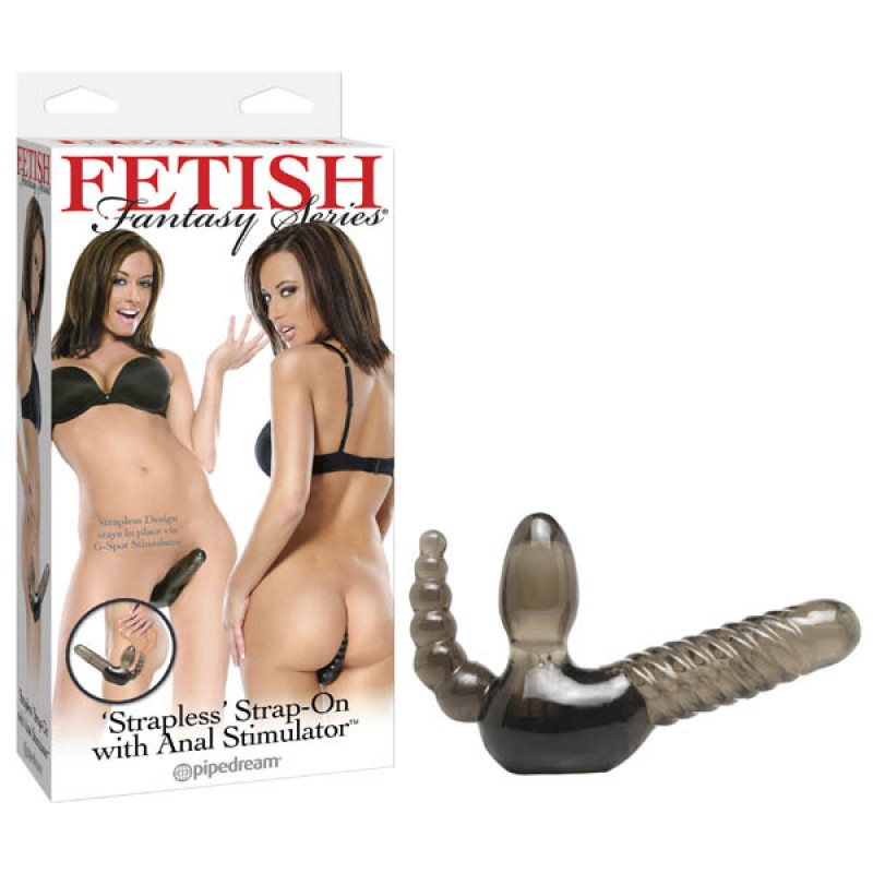 Fetish Fantasy Series 'strapless' Strap-on With Anal Stimulator