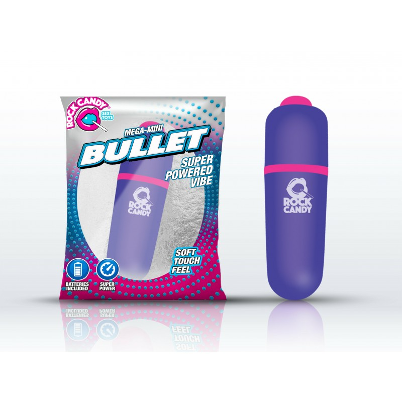 Rock Candy Mega-Mini Bullet Vibrator - Purple