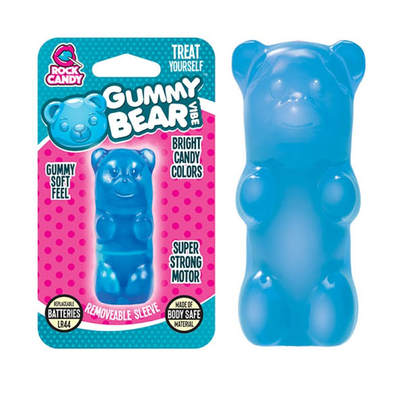 Gummy Bear Finger Vibe - Blue (Blister)