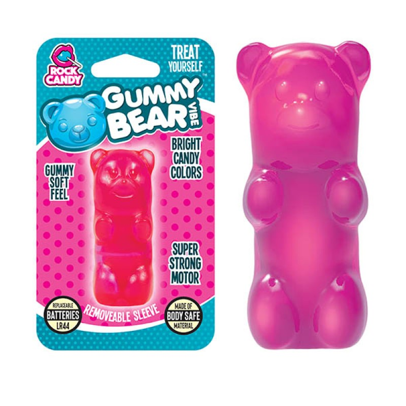 Gummy Bear Finger Vibe - Pink (Blister)
