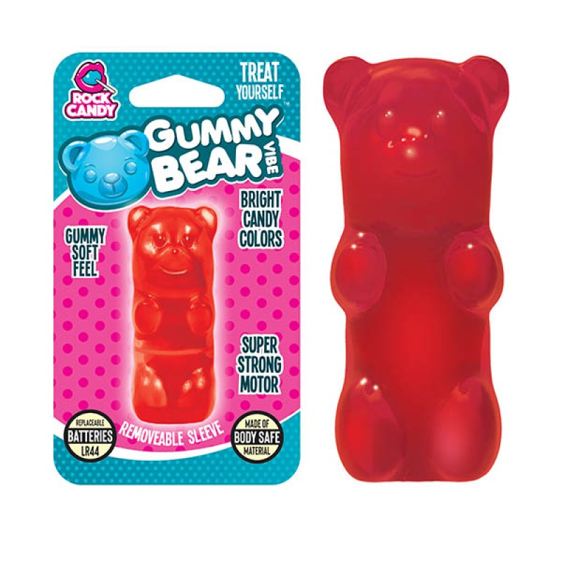 Gummy Bear Finger Vibe - Red (Blister)