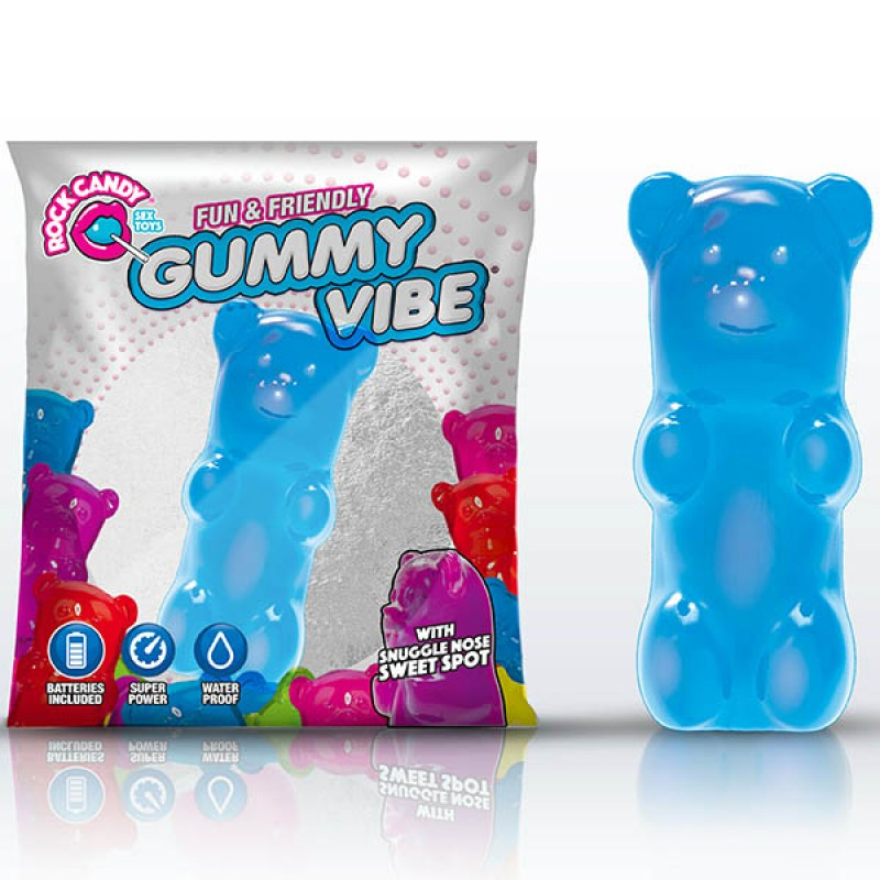 Rock Candy Gummy Bear Vibe - Blueberry Blue