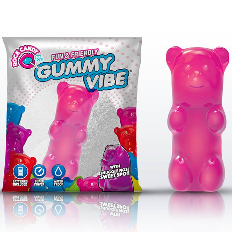 Rock Candy Gummy Bear Vibe - Bubblegum Pink