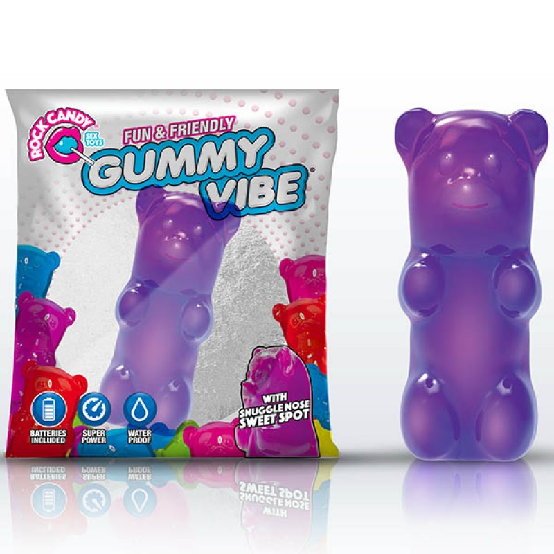 Rock Candy Gummy Bear Vibe - Jelly Bean Purple