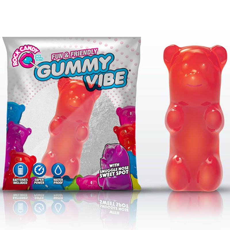 Rock Candy Gummy Bear Vibe - Cinnamon Red