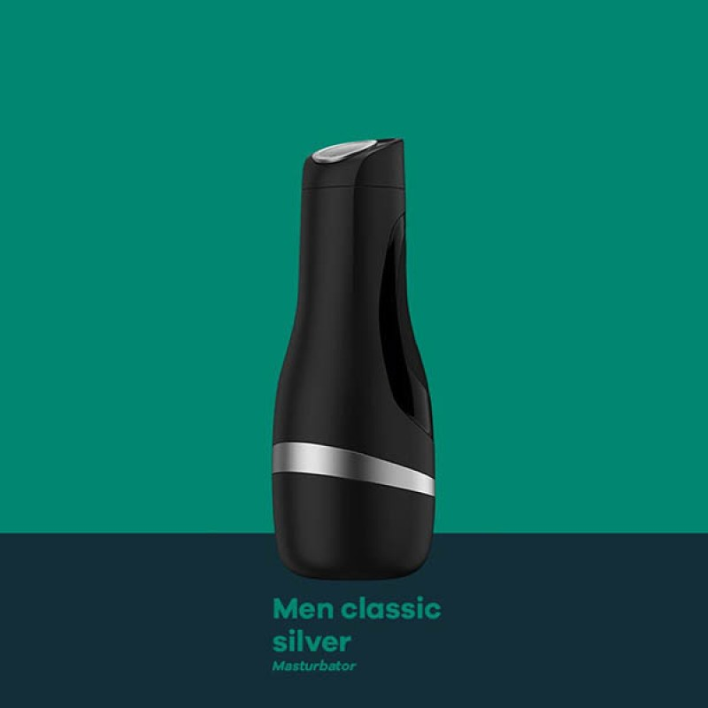 Satisfyer Men Classic - Black/Silver