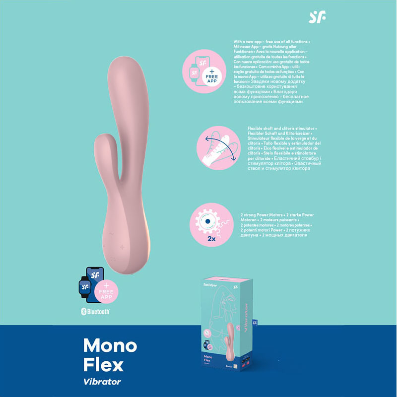 Satisfyer Mono Flex - Mauve